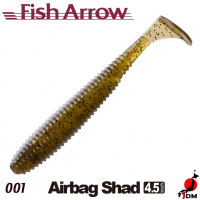 FISH ARROW Airbag Shad 4.5 IN 001