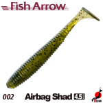 FISH ARROW Airbag Shad 4.5 IN 002