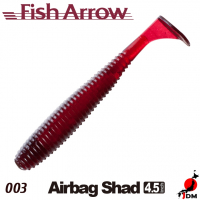 FISH ARROW Airbag Shad 4.5 IN 003