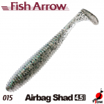 FISH ARROW Airbag Shad 4.5 IN 015
