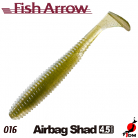 FISH ARROW Airbag Shad 4.5 IN 016