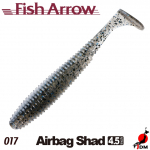 FISH ARROW Airbag Shad 4.5 IN 017