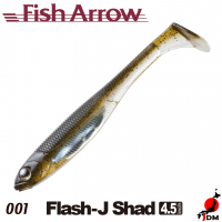 FISH ARROW Flash-J SHAD 4.5 IN 001