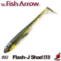 FISH ARROW Flash-J SHAD 4.5 IN 002