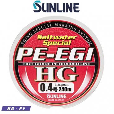 Salt Water SPECIAL PE-EGI HG PE 240m