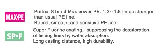 AVANI SEABASS PE MAX POWER 150 m