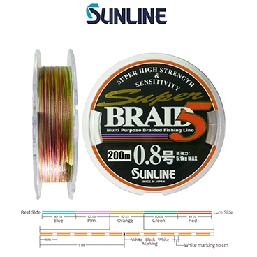 SUPER BRAID PE5 150m