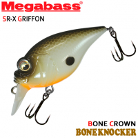 MEGABASS SR-X GRIFFON BONE KNOCKER BONE CROWN