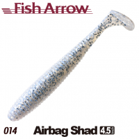 FISH ARROW Airbag Shad 4.5 IN 14