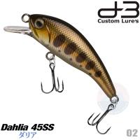 D-3 CUSTOM DAHLIA 45SS 4.5 G 02