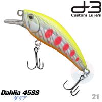 D-3 CUSTOM DAHLIA 45SS 4.5 G 21