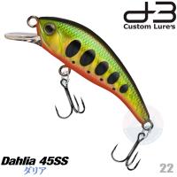 D-3 CUSTOM DAHLIA 45SS 4.5 G 22