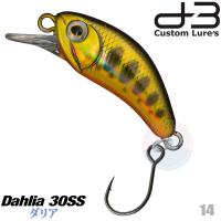 D-3 CUSTOM DAHLIA 30SS 3.2 G 14