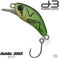 D-3 CUSTOM DAHLIA 30SS 3.2 G 15