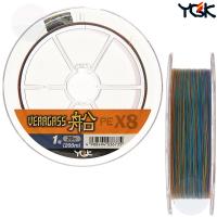 YGK VERAGASS X8 200 M PE LINE 1.0