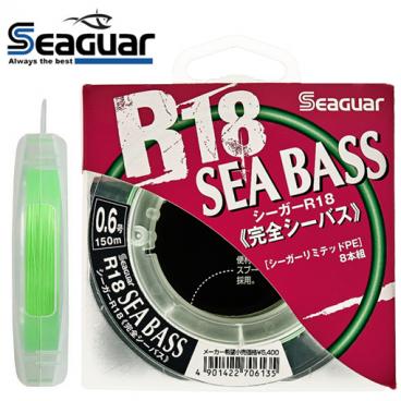 SEAGUAR R18 SEABASS 150 M x8 PE 0.6