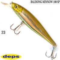 DEPS BALISONG MINNOW 100SP 23