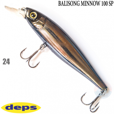 DEPS BALISONG MINNOW 100SP 24