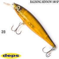 DEPS BALISONG MINNOW 100SP 39