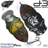 D-3 Custom Fukusemi Shallow Mini 2.9 g 06