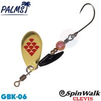 Palms Spin Walk Clevis SPW-CV-3 3.0 g 06 GBK