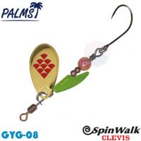Palms Spin Walk Clevis SPW-CV-3 3.0 g  08 GYG