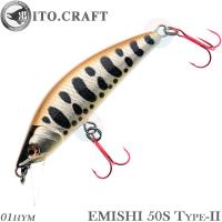 ITO.CRAFT Emishi 50S Type-II  01 HYM
