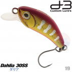 D-3 CUSTOM DAHLIA 30SS 3.2 G 18