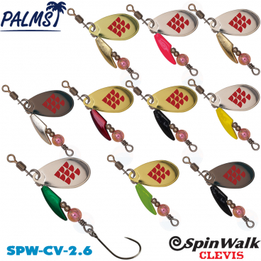 PALMS SPIN WALK CLEVIS SPW-CV-2.6 2.6 G