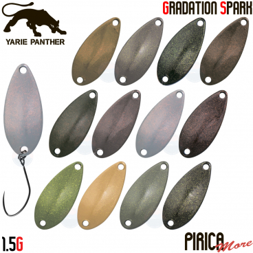 YARIE PIRICA MORE GS COLOR 1.5 G