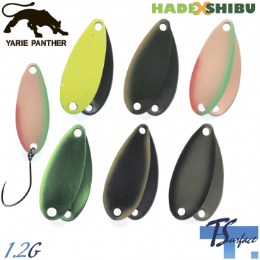 YARIE T-SURFACE HADE SHIBU COLOR 1.2 G