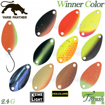 YARIE T-FRESH WINNER 2.4 G