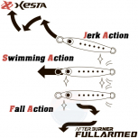 XESTA AFTER BURNER FULL ARMED 30 G