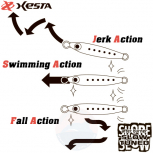 XESTA AFTER BURNER SLOW TUNED 30 G