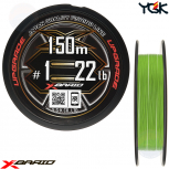 YGK X-BRAID UPGRADE X8 150 M PE LINE