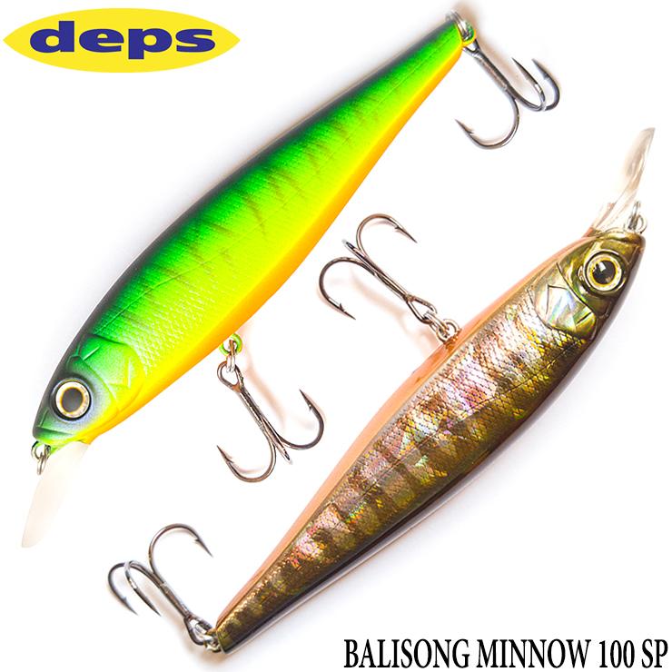 Deps Balisong Minnow 130 SP 7//8 oz Suspend Minnow color 05