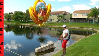 BALLOONS FLY FISH OUT of WATER **part 2**