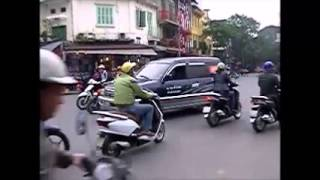 The Craziest Chaotic Traffic Ever In Hanoi, Vietnam