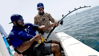 Monster Goliath Groupers with NFL Linebacker Sam Barrington 2