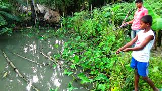 Best Fishing Video / Fishing By Hook / Traditional Hook Fishing (Part-475)
